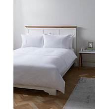 Buy John Lewis Embroidered Cord Flower Duvet Cover and Pillowcase Set Online at johnlewis.com