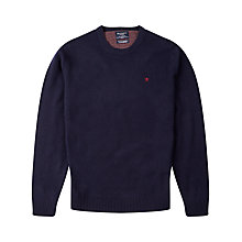 Buy Hackett London Crew Neck Lambswool Jumper Online at johnlewis.com