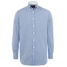 Buy Hackett London Two Colour Oxford Gingham Shirt Online at johnlewis.com