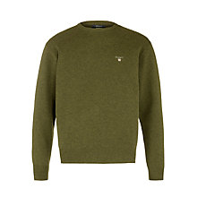 Buy Gant Lambswool Crew Neck Jumper Online at johnlewis.com