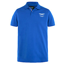 Buy Hackett London Aston Martin Racing Tipped Polo Shirt Online at johnlewis.com