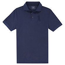 Buy Hacket London Garment Dye Numbered Classic Polo Shirt Online at johnlewis.com