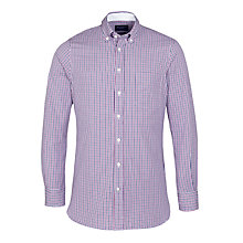 Buy Hackett Two Colour Oxford Gingham Shirt Online at johnlewis.com