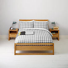 Buy John Lewis Payton Check Bedding Online at johnlewis.com