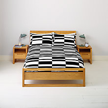 Buy John Lewis Broken Stripes Duvet Cover and Pillowcase Set Online at johnlewis.com