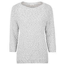 Buy Kaliko Slouchy Jumper, Multi Ivory Online at johnlewis.com
