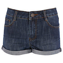 Buy Warehouse Turn-Up Denim Shorts Online at johnlewis.com