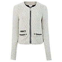 Buy Kaliko Metallic Tape Jacket, Multi Ivory Online at johnlewis.com