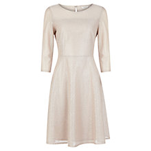 Buy Kaliko Mesh Lace Dress, Grey Online at johnlewis.com