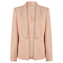 Buy Kaliko Soft Waterfall Blazer, Light Pink Online at johnlewis.com