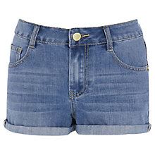 Buy Warehouse Turn Up Denim Shorts Online at johnlewis.com