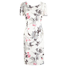 Buy Jacques Vert Soft Floral Shift Dress, Multi Pink Online at johnlewis.com