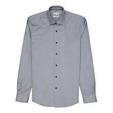 Buy Reiss Harrington Darted Oxford Shirt, Stone Online at johnlewis.com