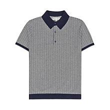 Buy Reiss Patterned Polo Shirt Online at johnlewis.com