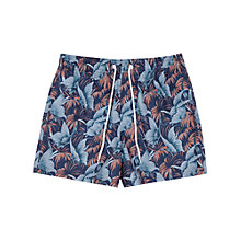 Buy Reiss Ditora Nature Print Swim Shorts, Blue Online at johnlewis.com
