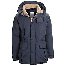 Buy Selected Homme Iconic Arctic Parka, Navy Online at johnlewis.com