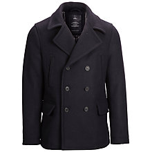 Buy Selected Homme Iconic Peacoat, Navy Online at johnlewis.com