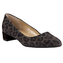 Buy Peter Kaiser Joa Suede Block Heeled Court Shoes Online at johnlewis.com