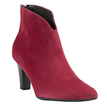 Buy Peter Kaiser Garma Suede Point Toe Ankle Boots Online at johnlewis.com