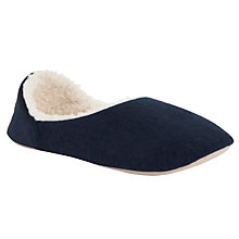Buy John Lewis Poppy Fleece Lined Slippers Online at johnlewis.com
