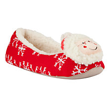 Buy John Lewis Mr & Mrs Clause Slippers Online at johnlewis.com