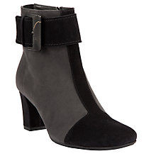 Buy Peter Kaiser Alfina Boots, Black / Grey Online at johnlewis.com