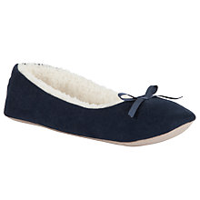 Buy John Lewis Mimosa Fabric Slippers Online at johnlewis.com
