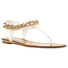 Buy Steve Madden Hotstuff Chain Detail Sandals Online at johnlewis.com