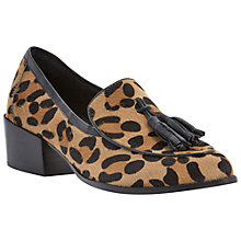 Buy Steve Madden Teatime Pony Loafers Online at johnlewis.com