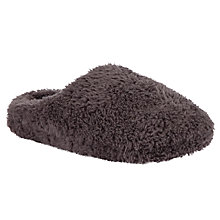 Buy John Lewis Blossom Slippers, Grey Online at johnlewis.com