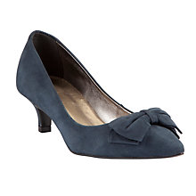 Buy John Lewis Pinot Nubuck Court Shoes, Navy Online at johnlewis.com