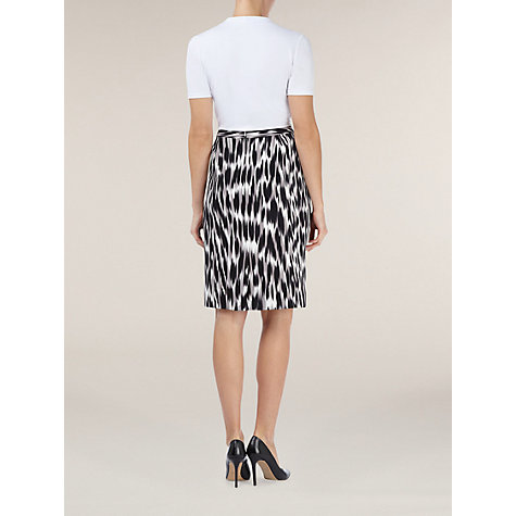 Buy Planet Hazy Animal Print Pencil Skirt, Multi Online at johnlewis.com