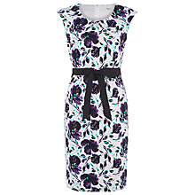 Buy Precis Petite Floral Trellis Dress, Multi Online at johnlewis.com