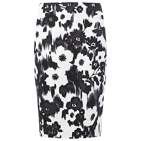 Buy Precis Petite Floral Skirt, Multi Dark Online at johnlewis.com