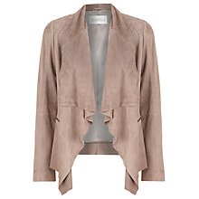 Buy Kaliko Suede Jacket, Stone Online at johnlewis.com