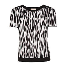 Buy Planet Hazy Animal Print Shell Top, Multi Online at johnlewis.com