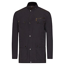Buy Barbour International Lockhill Waterproof Jacket, Black Online at johnlewis.com