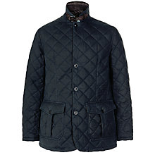 Buy Barbour Bildung Quilted Jacket, Navy Online at johnlewis.com