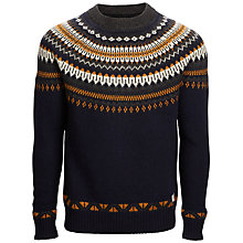 Buy Selected Homme Jacquard Crew Neck Jumper Online at johnlewis.com