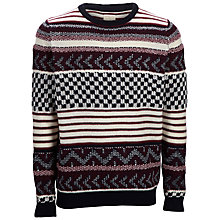Buy Selected Homme First Crew Neck Wool Blend Jumper Online at johnlewis.com