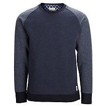 Buy Selected Homme Dubb Crew Neck Sweatshirt Online at johnlewis.com