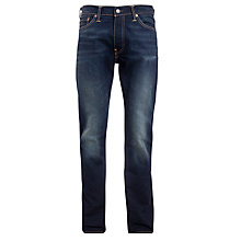 Buy Levi's 504 Straight Leg Jeans, Clouds Rest Online at johnlewis.com
