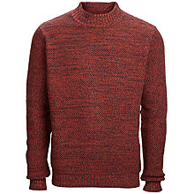 Buy Selected Homme Wester Jumper, Russet Brown Online at johnlewis.com