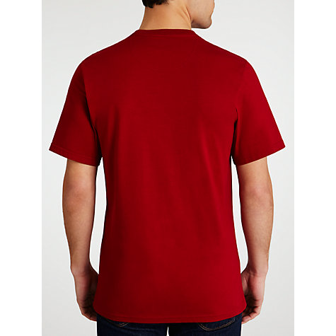 Buy Barbour Pride T-Shirt, Crimson Online at johnlewis.com