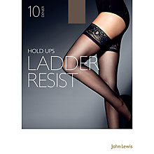 Buy John Lewis 10 Denier Ladder Resist Hold-Ups, Pack Of 1 Online at johnlewis.com
