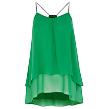 Buy Coast Rasputin Cami Top, Green Online at johnlewis.com