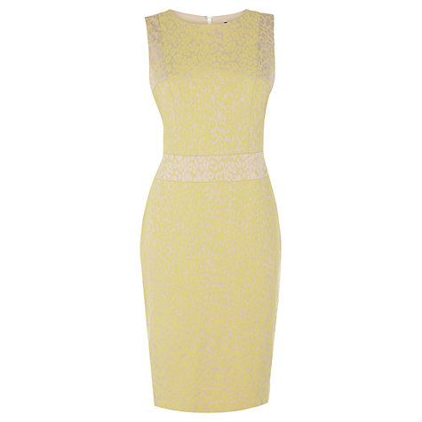Buy Coast Abigail Dress, Yellow Online at johnlewis.com