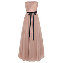 Buy Coast Mancnini Maxi Dress, Mink Online at johnlewis.com