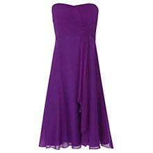Buy Coast Symphony Short Dress, Purple Online at johnlewis.com