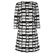 Buy Coast Alula Check Coat, Monochrome Online at johnlewis.com
